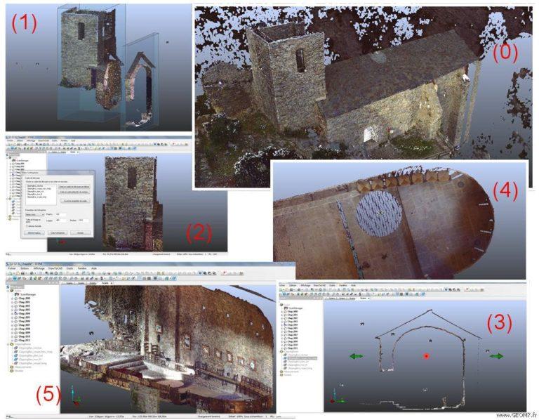 Topographie 3D de monuments